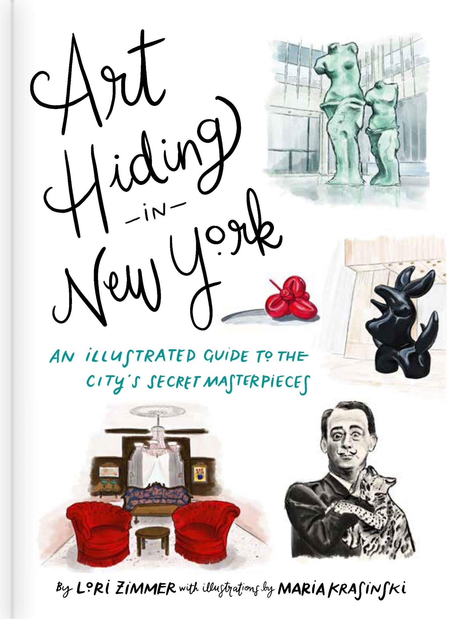 Art Hiding in New York Book