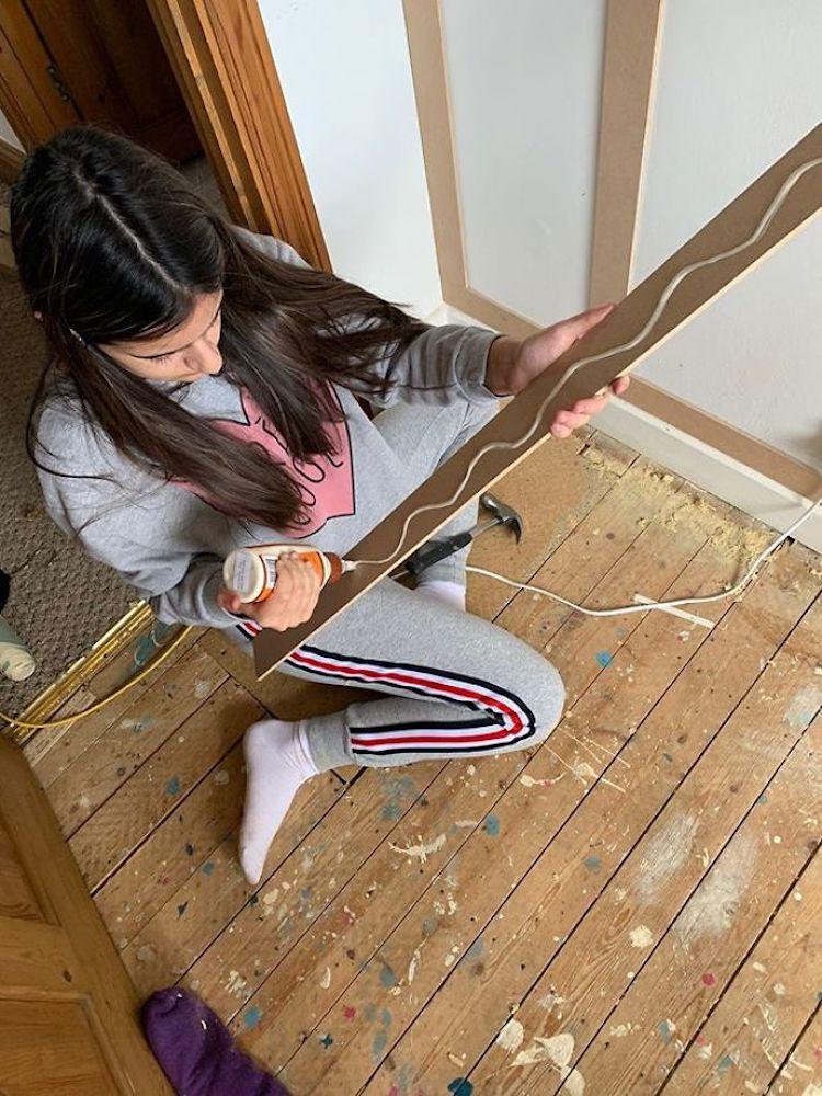DIY Panel in Home