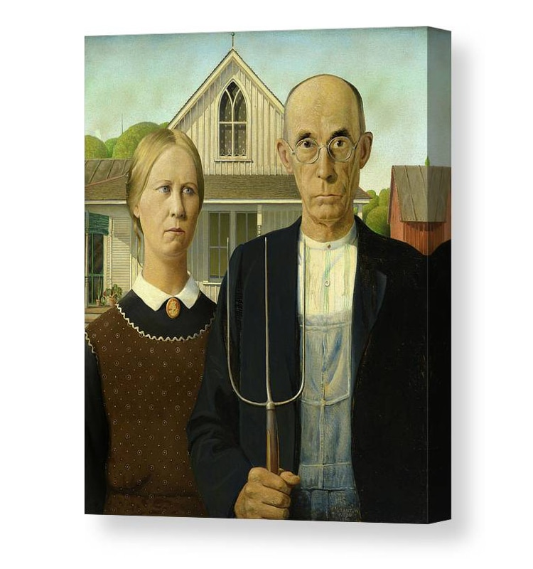 American Gothic Canvas Print