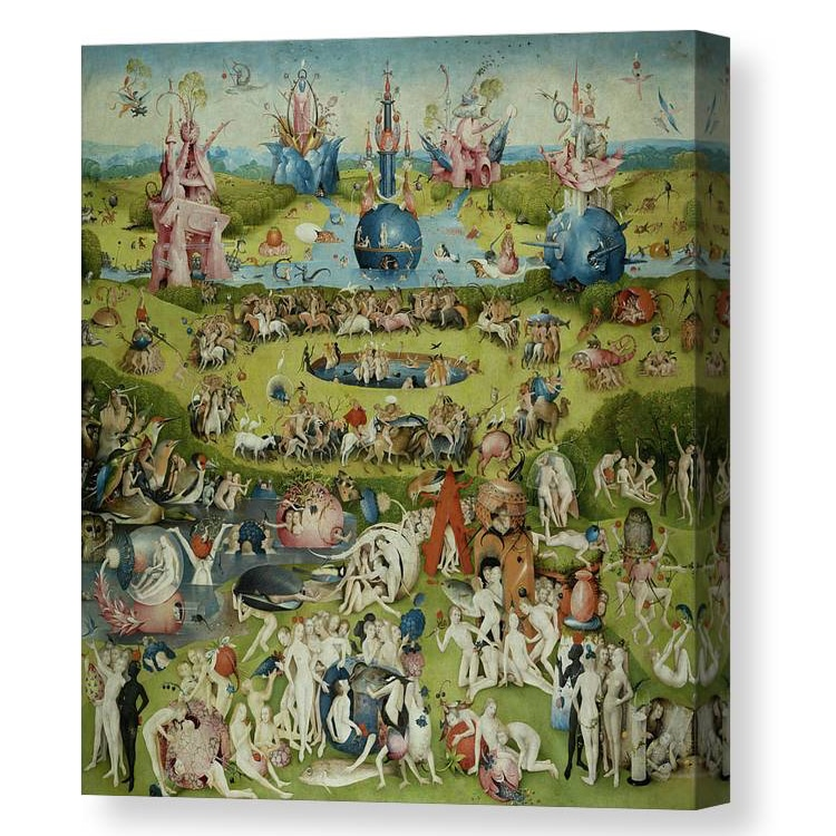 Garden of Earthly Delights Canvas Print