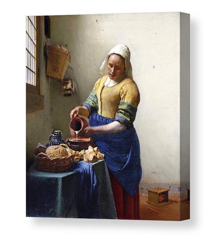 Vermeer Canvas Print
