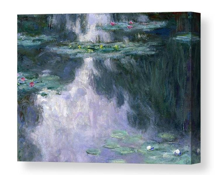 Claude Monet Waterlilies Canvas Print