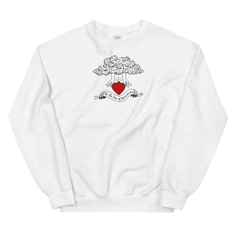 For the Love of Romanticism Graphic Sweatshirt
