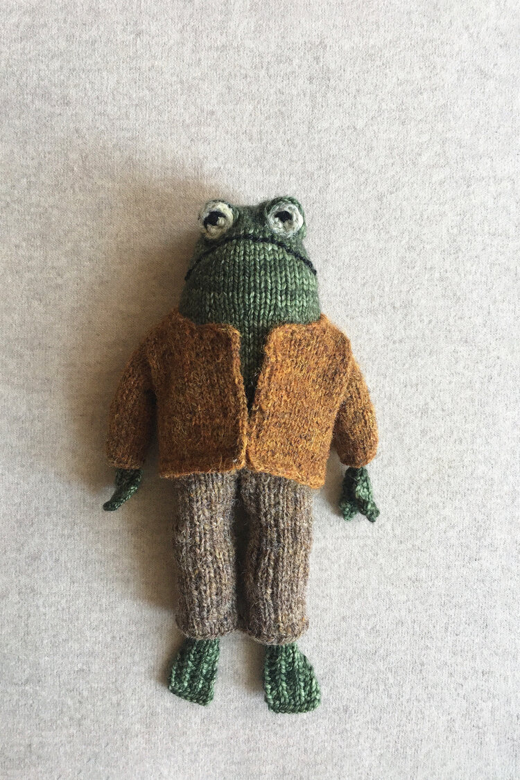 Knitted Toad