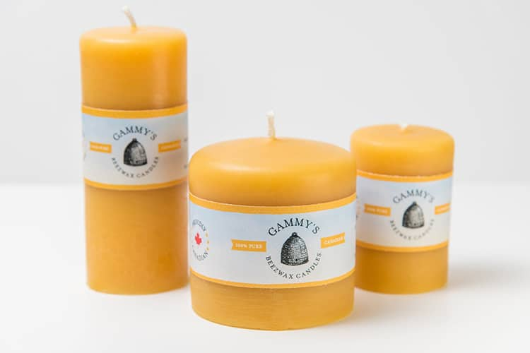 Gammys Beeswax Candles