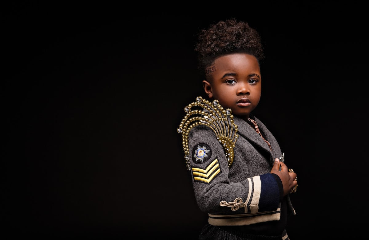 Creative Portrait Photography of Black Children