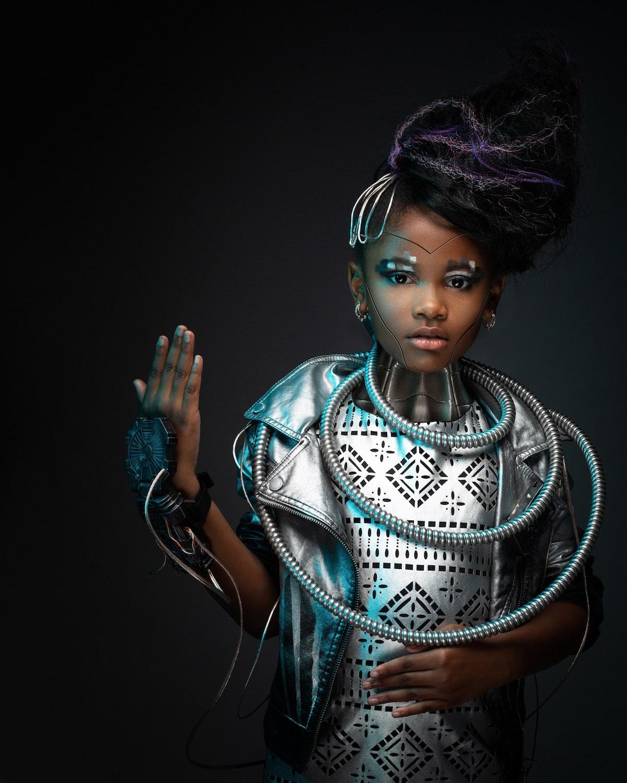 Creative Portrait Photography of Black Children