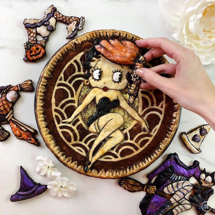 tarta de Halloween The Pieous