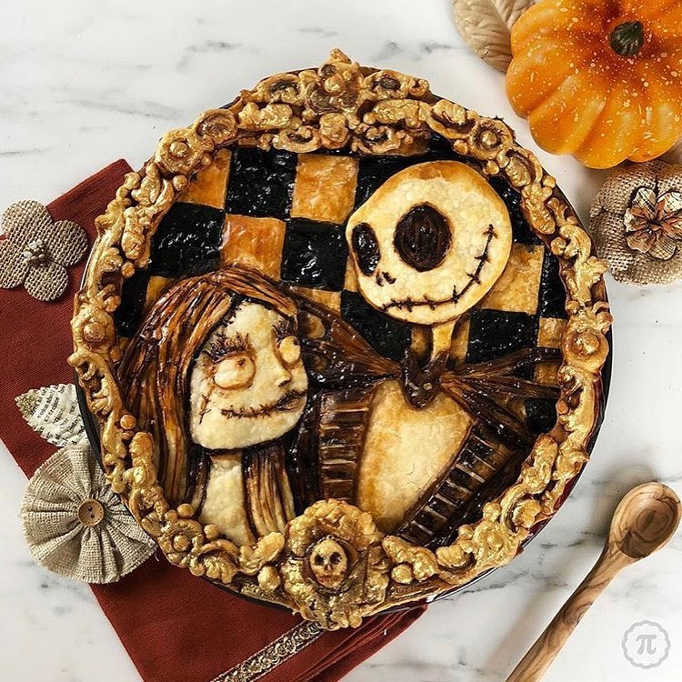 Halloween Pie Crust Designs by The Pieous