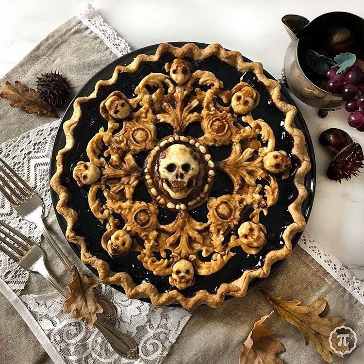 tarta de HalloweenThe Pieous