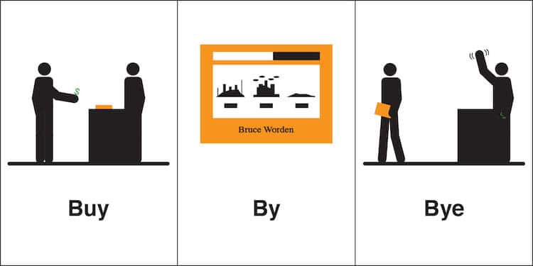Homophones, Weakly par Bruce Worden