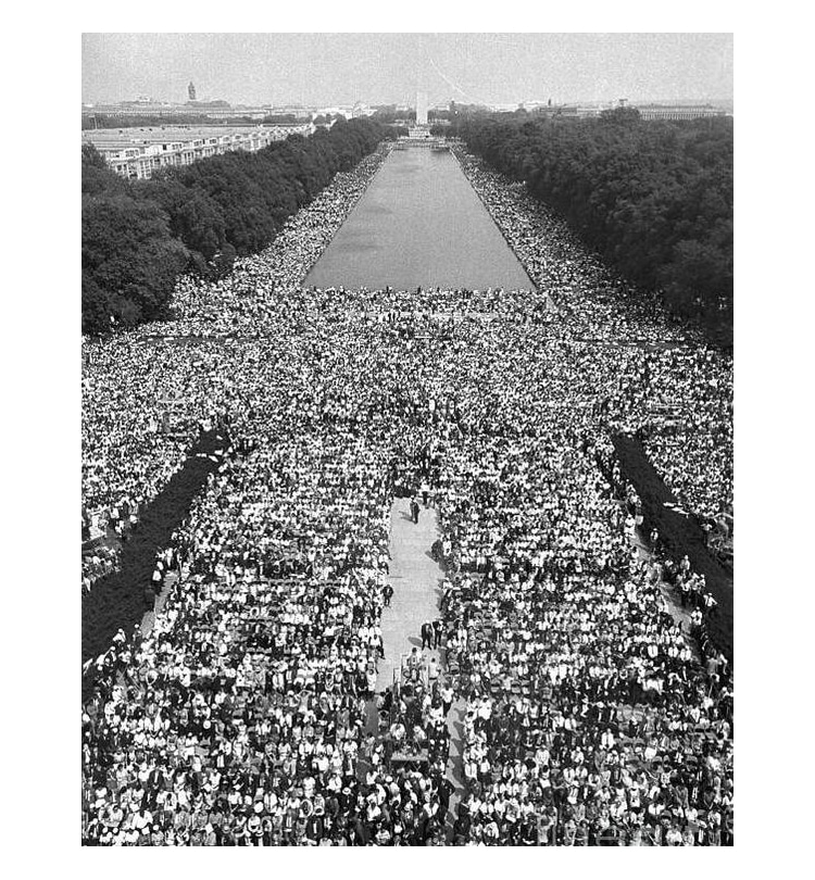 Poster of the March on Washington