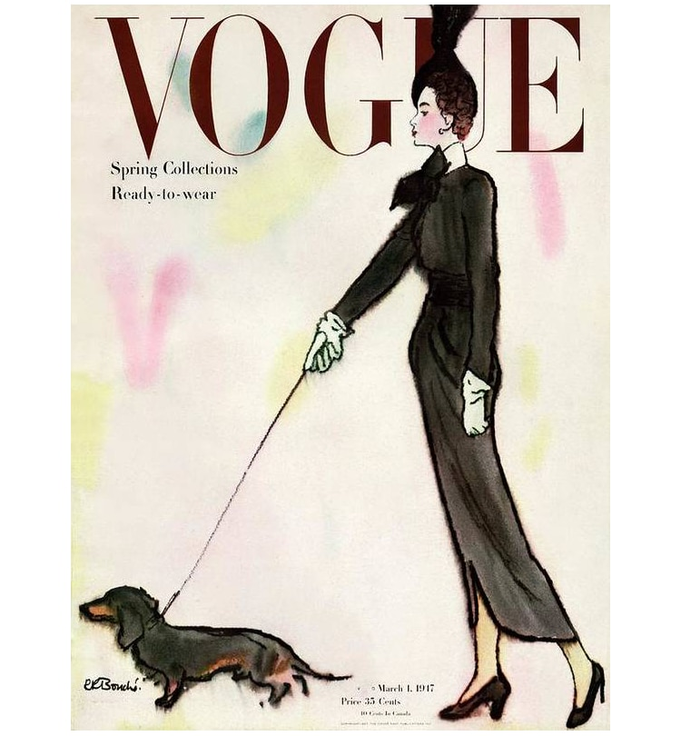 1917 Rene R. Bouche Vogue Cover