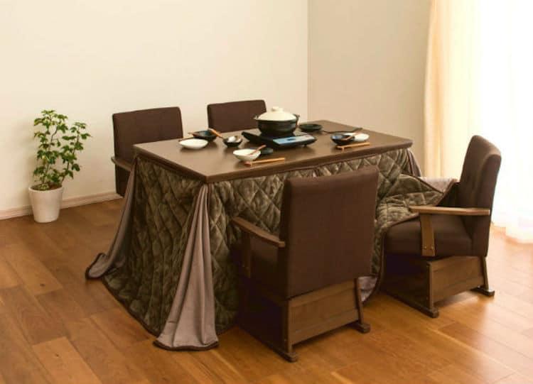 Japanese Kotatsu Desk