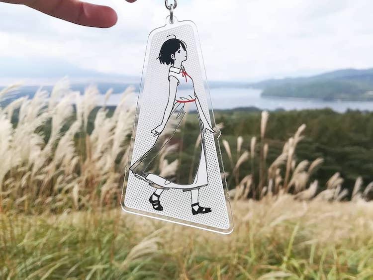 Acrylic Key Chain by Kamome Fuyuno
