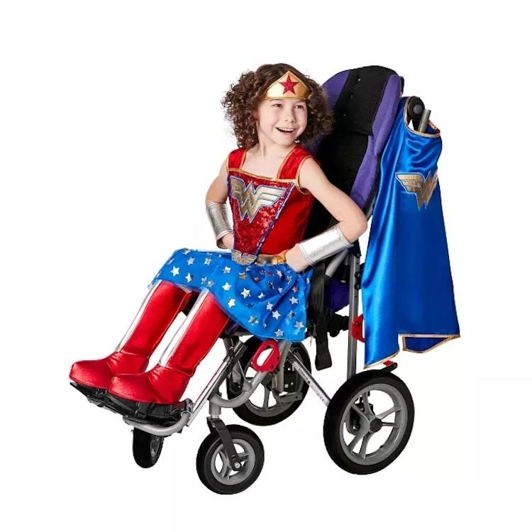 Wonder Woman Adaptive Halloween Costume for Kids