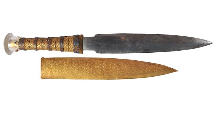 Daga de Tutankamón hecha de un meteorito