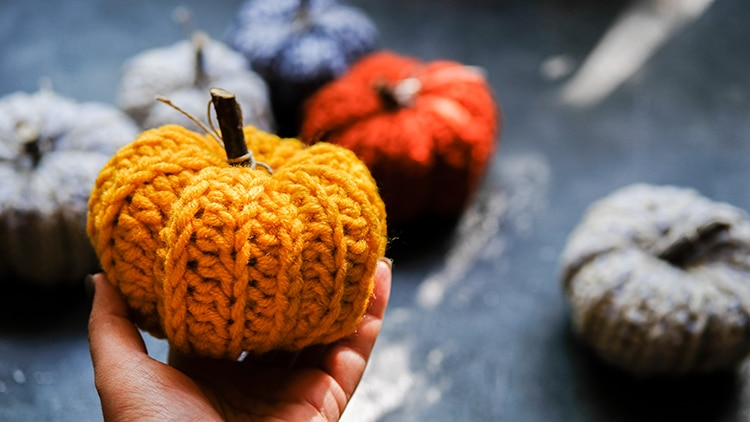 Knit Pumpkin Project
