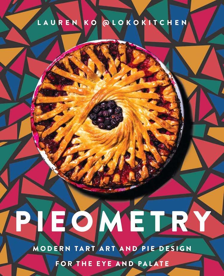 Pieometry Book Cover by Lauren Ko