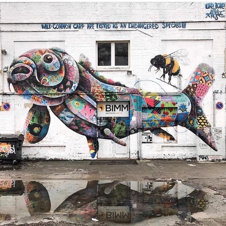 Murals by Louis Masai