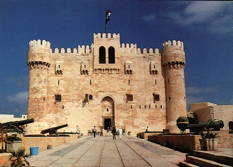 A Mamluk Fort in Alexandria