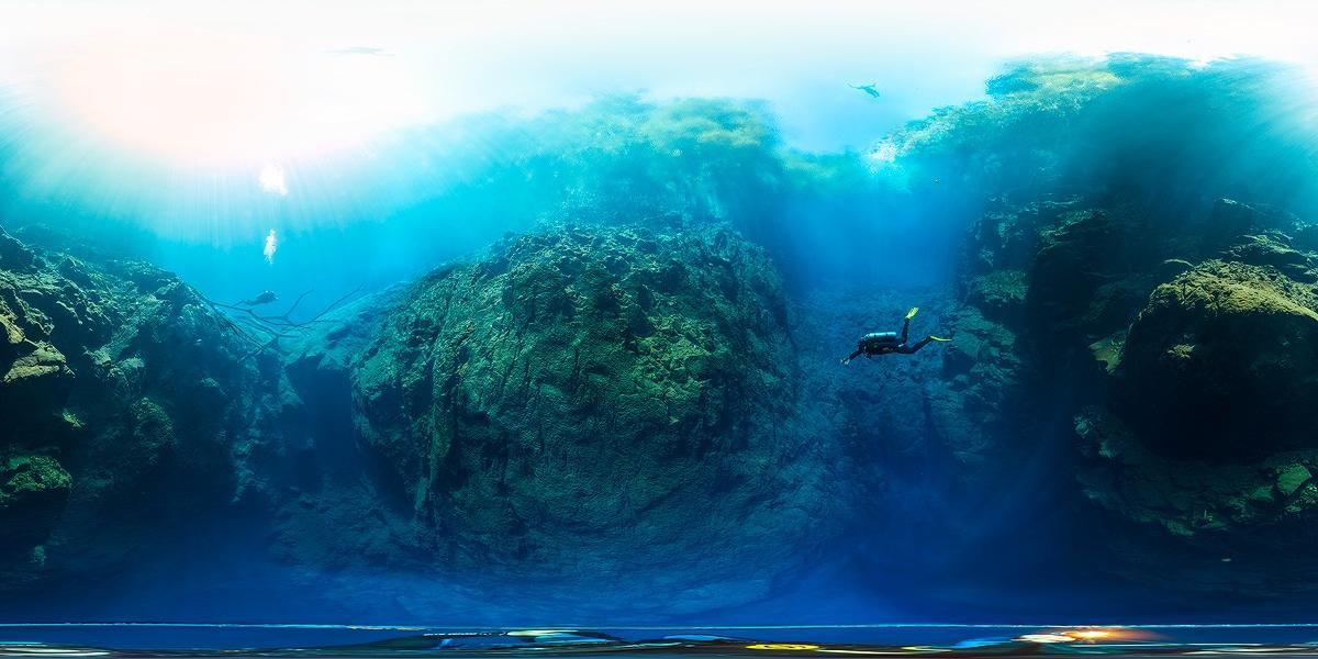 High Definition Underwater Panorama