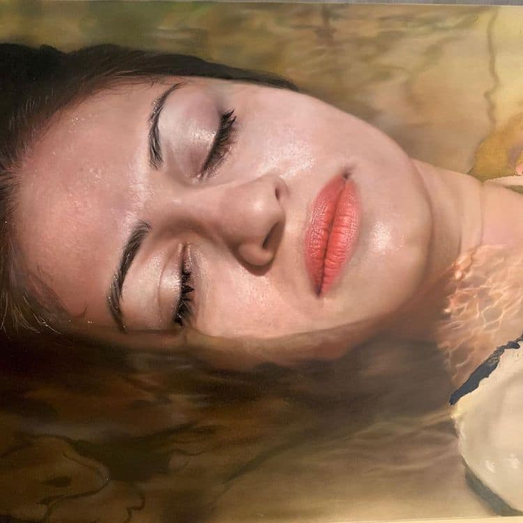 Realistic Portrait Paintings by Marissa Oosterlee