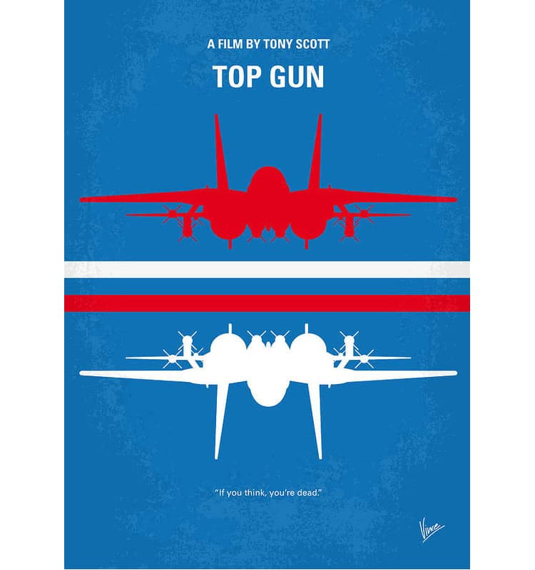 Top Gun Art Print on Fine Art America