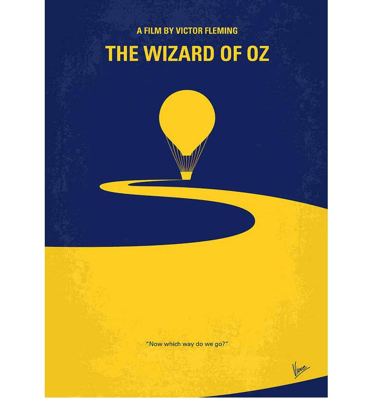 Wizard of Oz Contemporary Movie Poster