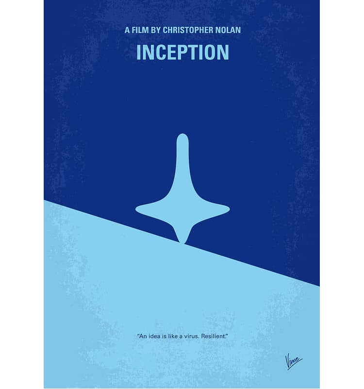 Inception Minimalist Movie Poster
