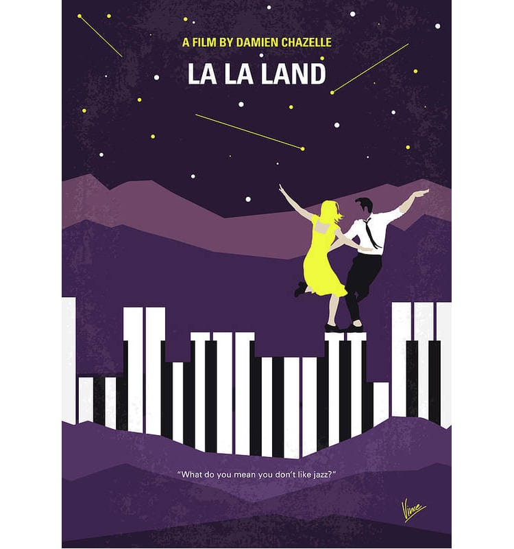 Minimalist Movie Poster LA LA Land