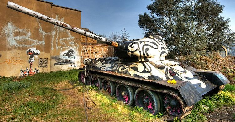 Tank Art by Ned Taiyebi