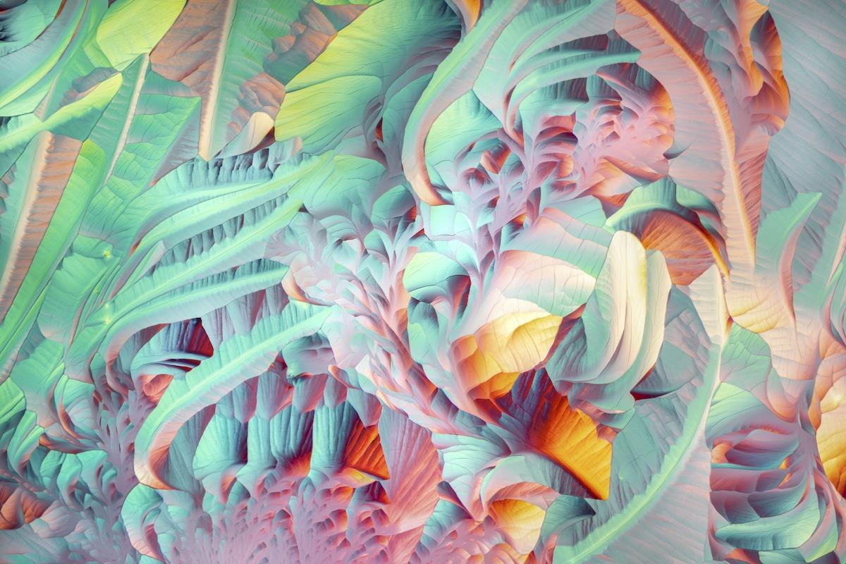 cristales bajo el microscopio