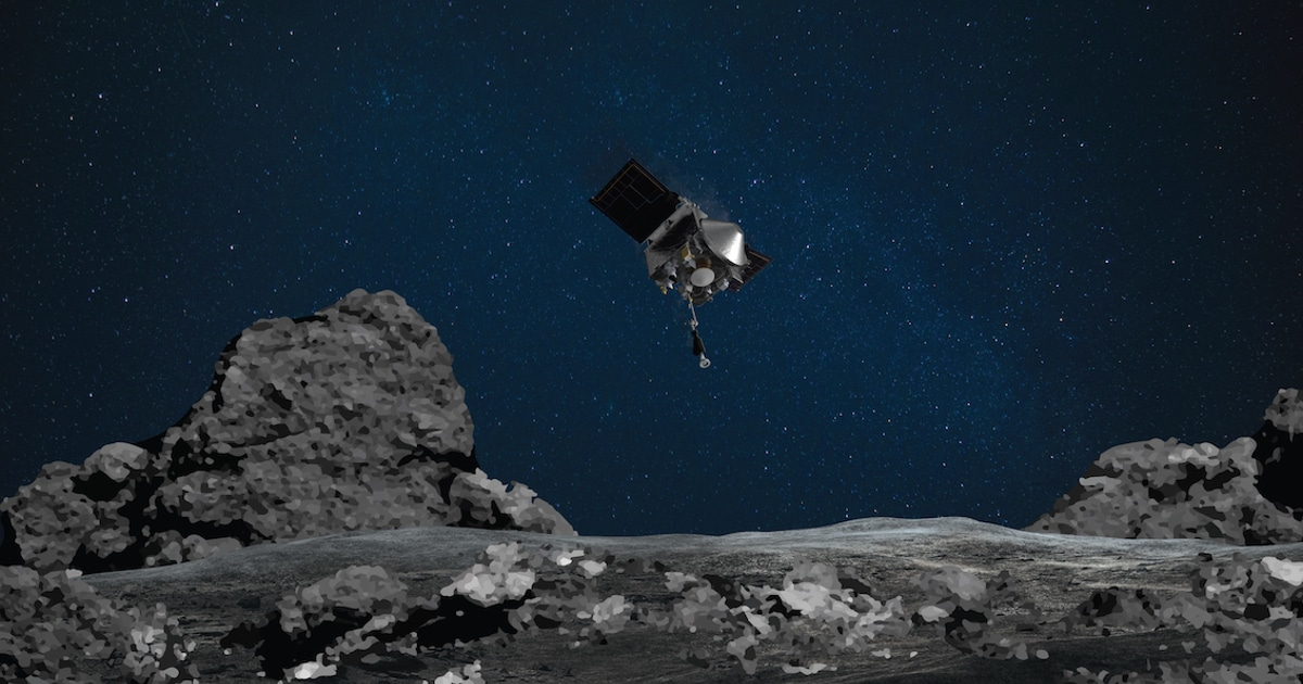 NASA Successfully Landed a Spacecraft on an Asteroid for the First Time in History