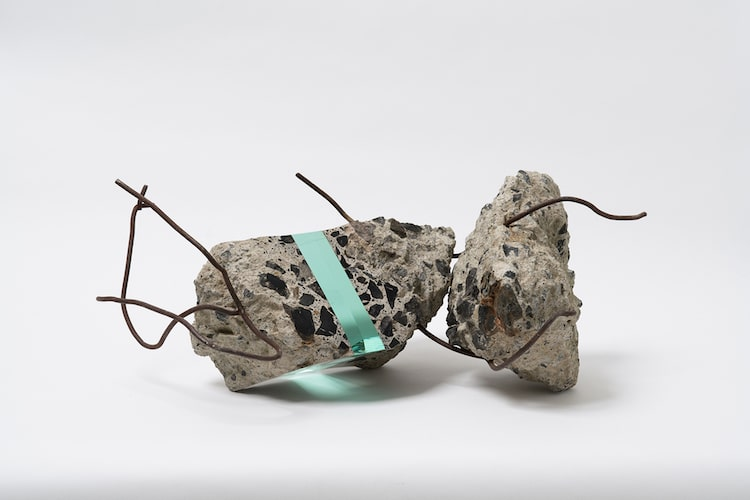 Artist Cuts Through Stone with Sleek Glass in Unique Sculptures