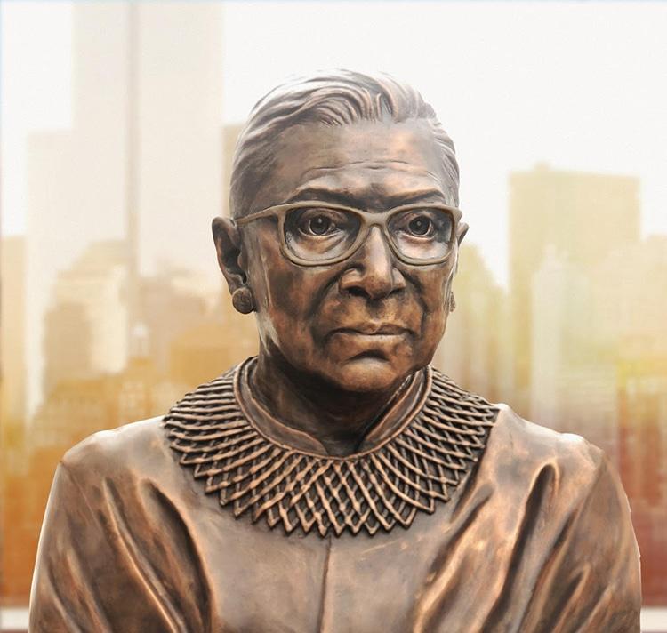 Ruth Bader Ginsburg Brooklyn Public Art Statue