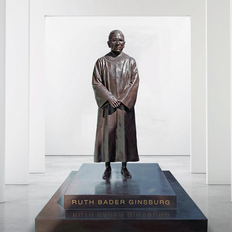 Supreme Court Justice Ruth Bader Ginsburg Bronze Statue