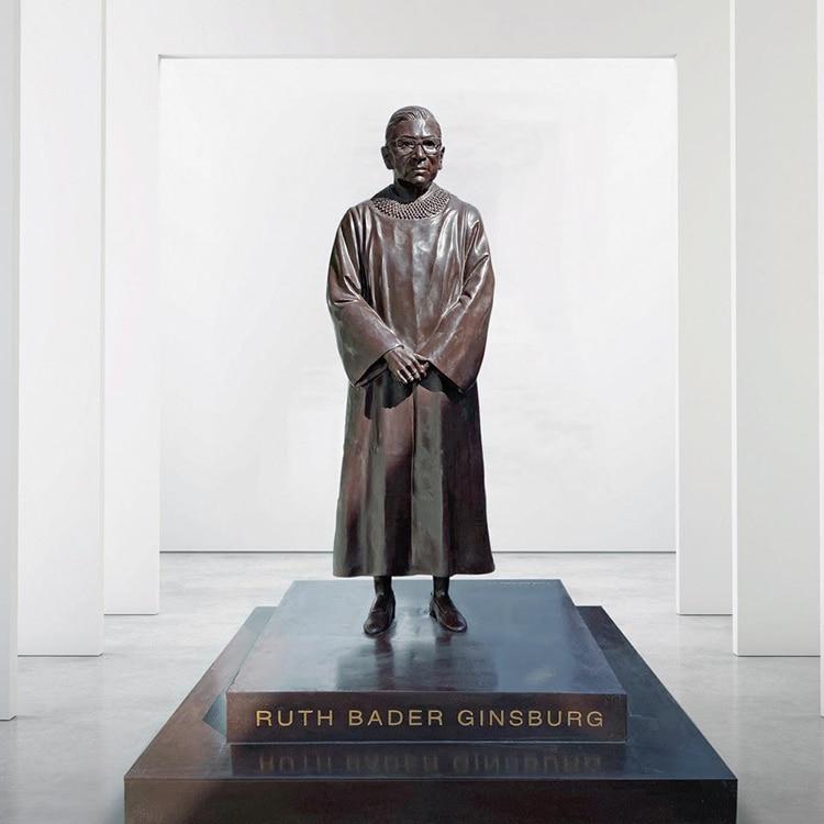 Supreme Court Justice Ruth Bader Ginsburg Bronze Statue