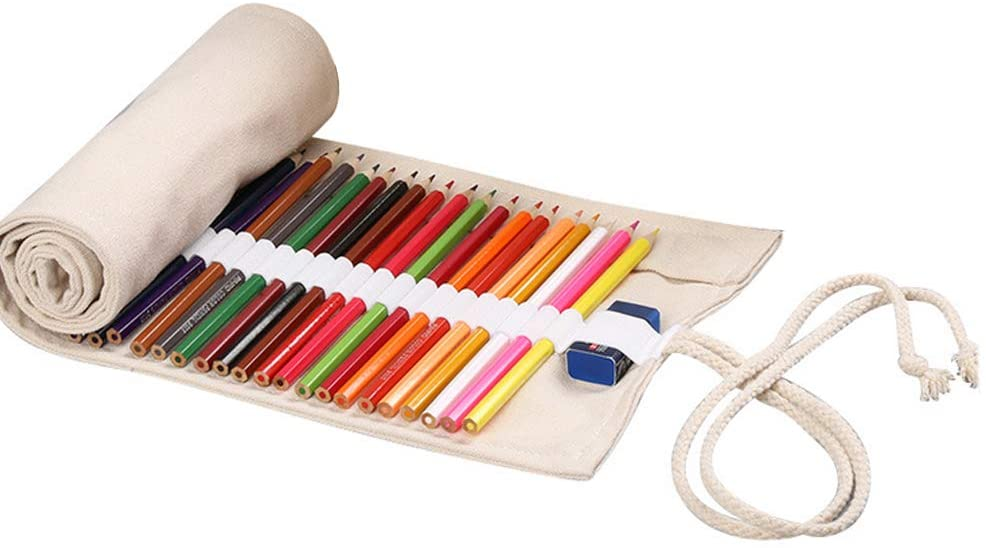 Roll Up Pencil Case