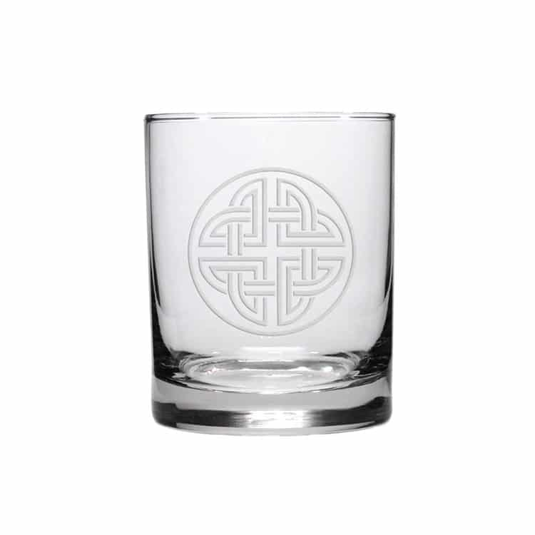 Shield Knot Glass