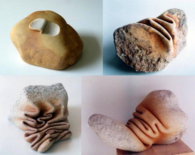 Esculturas de piedra por José Manuel Castro López