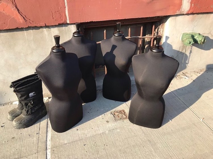 Free Dress Forms on Street