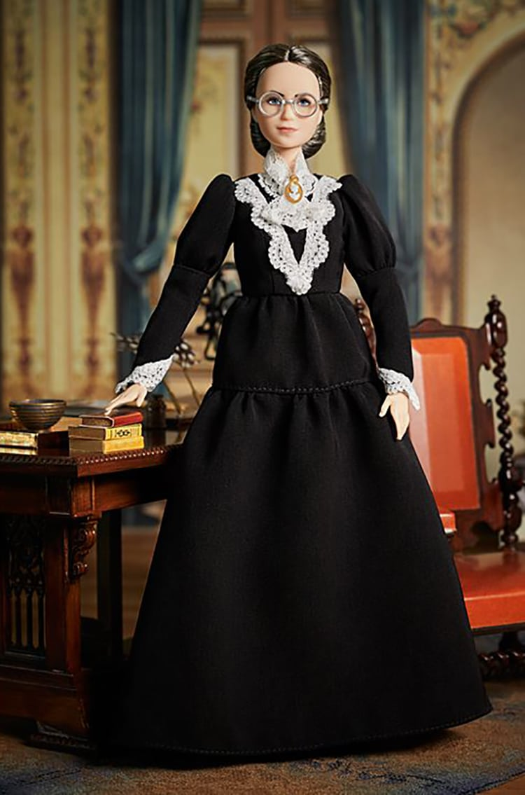 Susan B. Anthony Barbie By Mattel, Women's Right To Vote