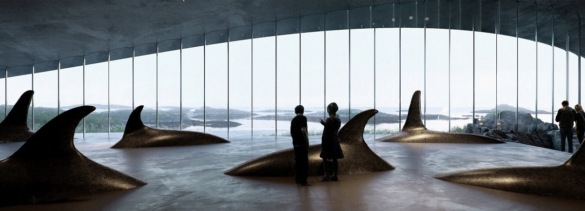 """Interior Image of """"The Whale"""""""