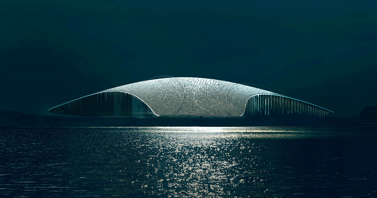 Architects Reveal New Images of 'The Whale' Museum in Arctic Circle