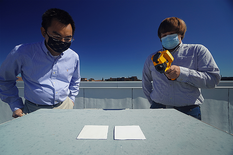 Researchers Develop Ultra White Paint for Passive Cooling
