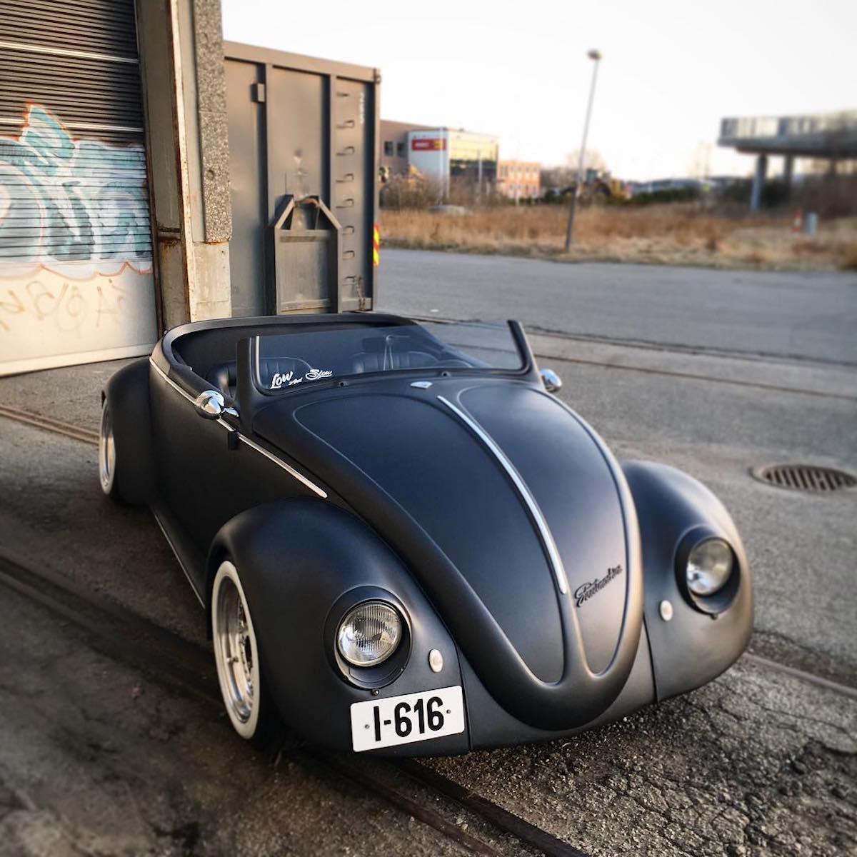 1961 Black Volkswagen Beetle