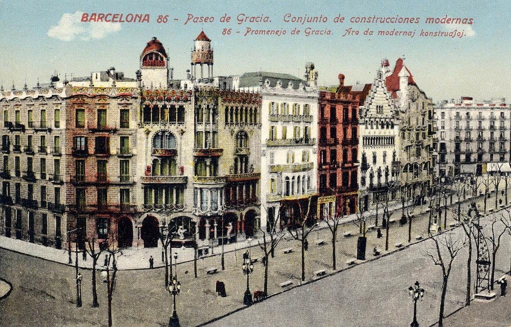 Manzana de la discordia en Barcelona