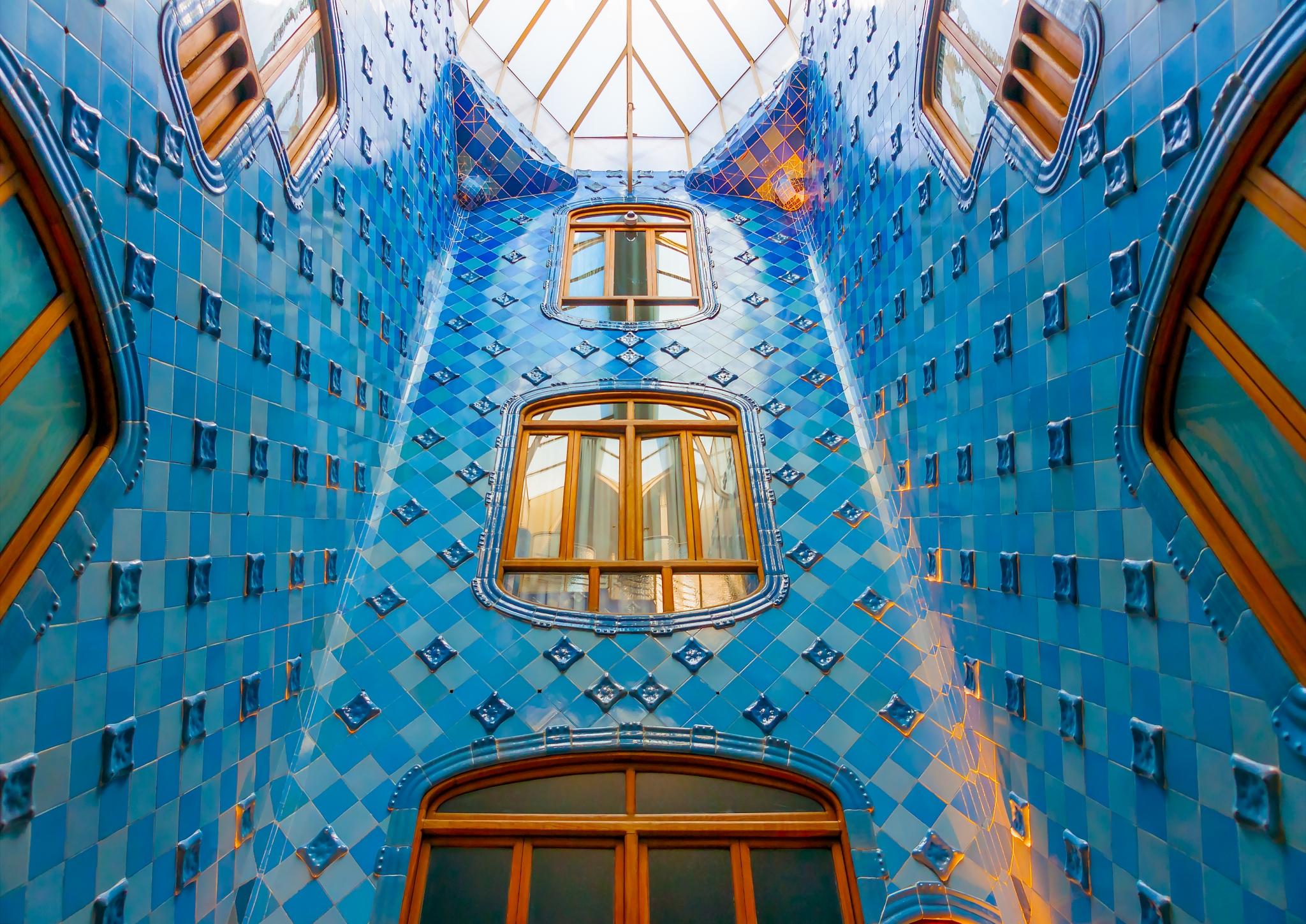 Interior de la Casa Batlló en Barcelona