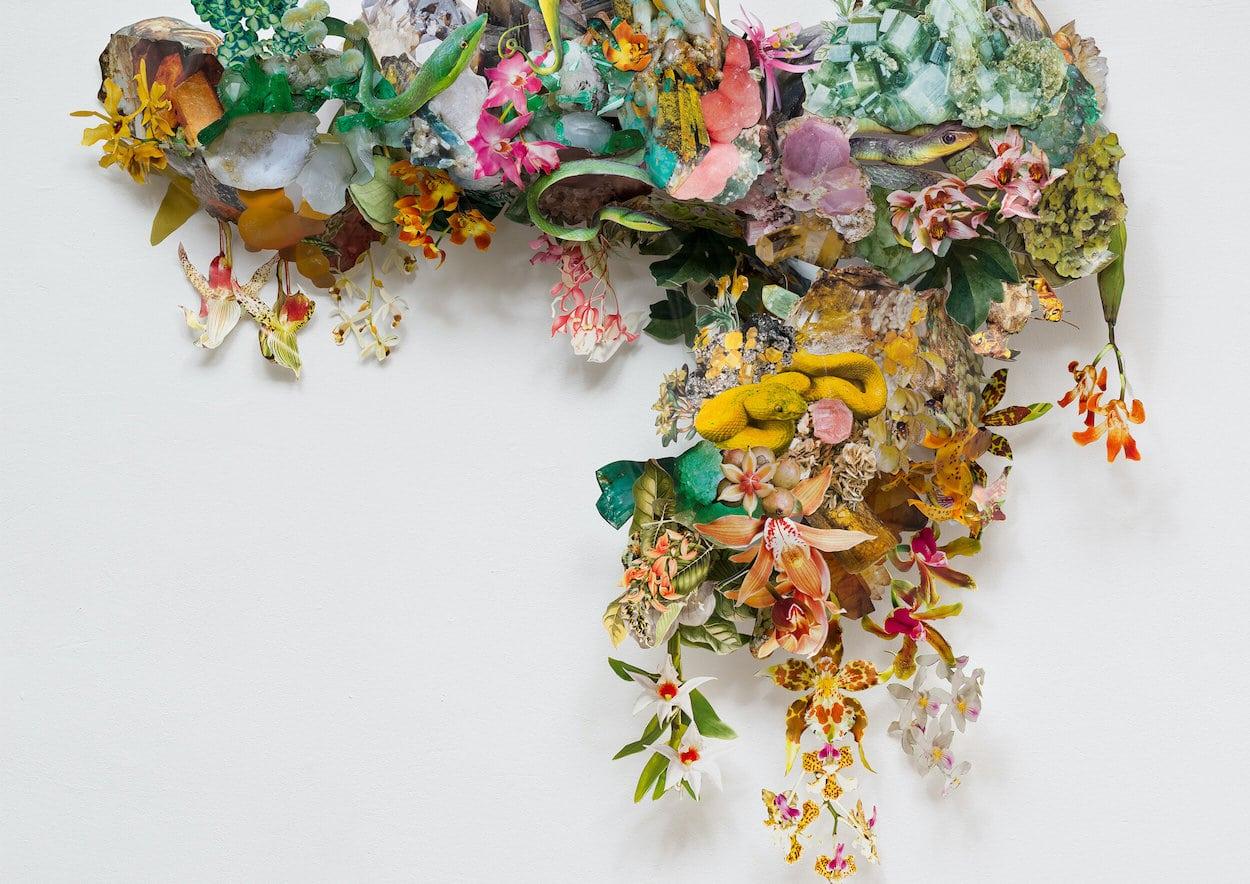 Clare Borsch Collaged Installation